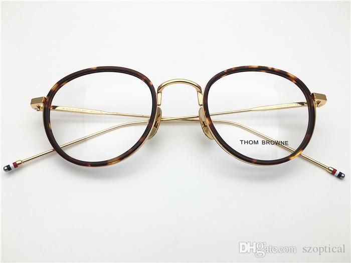 65f2da18895 Brand High Good Quality for Men Round Retro Vintage Acetate with ...
