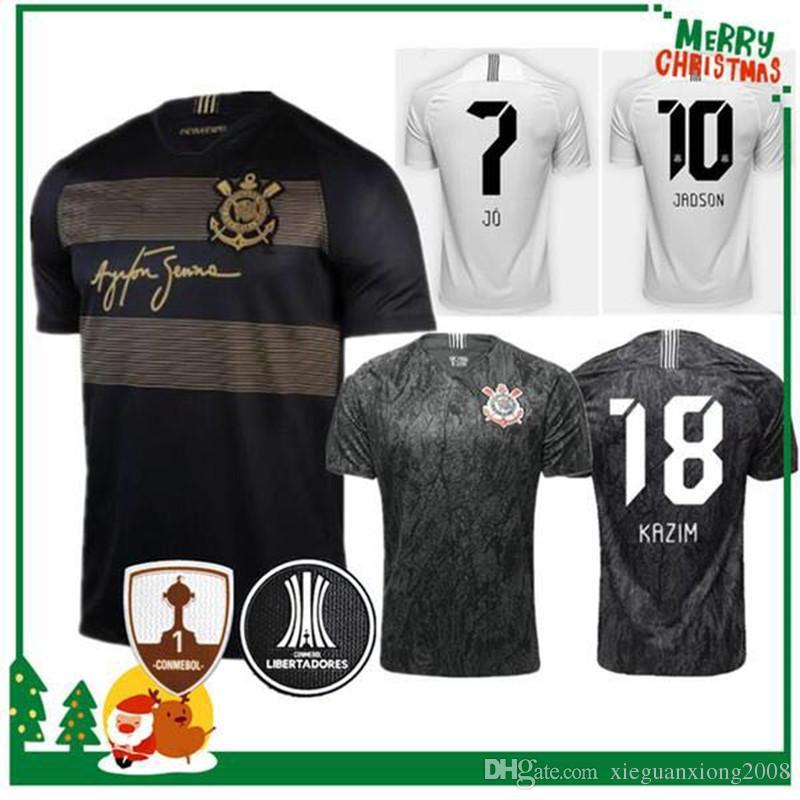 18 19 Corinthian JO JADSON Jersey Soccer Home 2018 2019 RODRIGUINHO ... d4f067af7