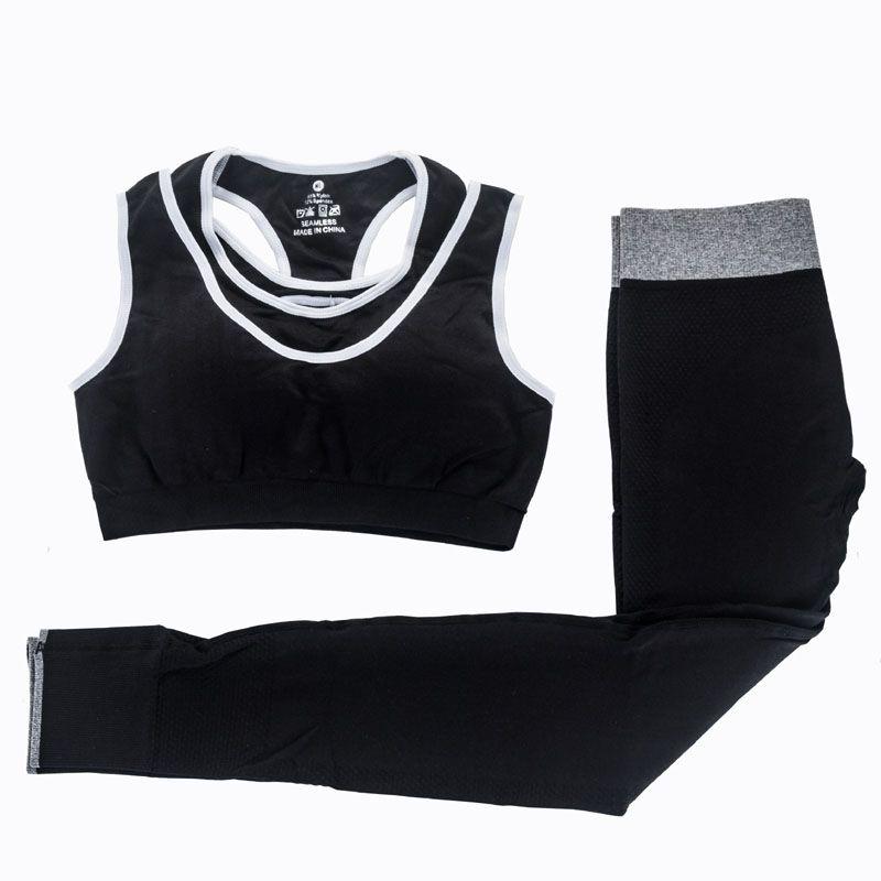 Women Yoga Sets Fitness Sports Bra Yoga Pants Leggings Set Gym Running Sport Suit Set Sportswear Active Fashion Sexy Outfits