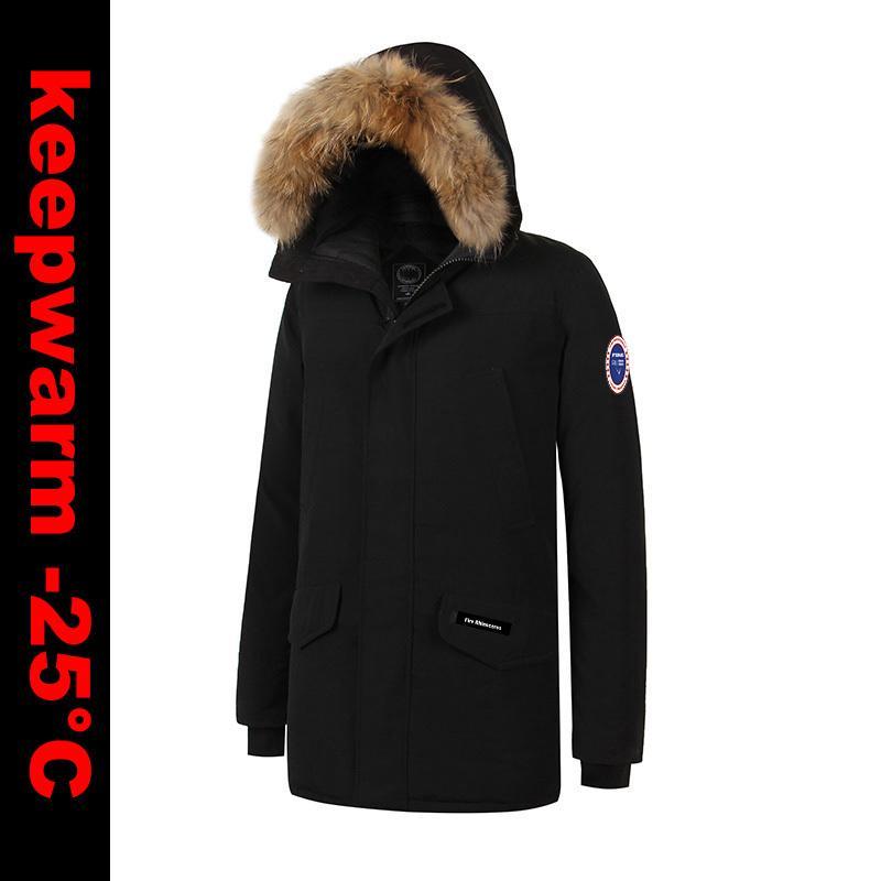 Großhandel 2018 Nagelneuer Xs 4xl Mens Starker Winter Warme Ente Unten  Dicker Langford Parka Dünne Jacke Art Und Weisemantel L18101103 Von Tai002,  ... b461aa5ebb