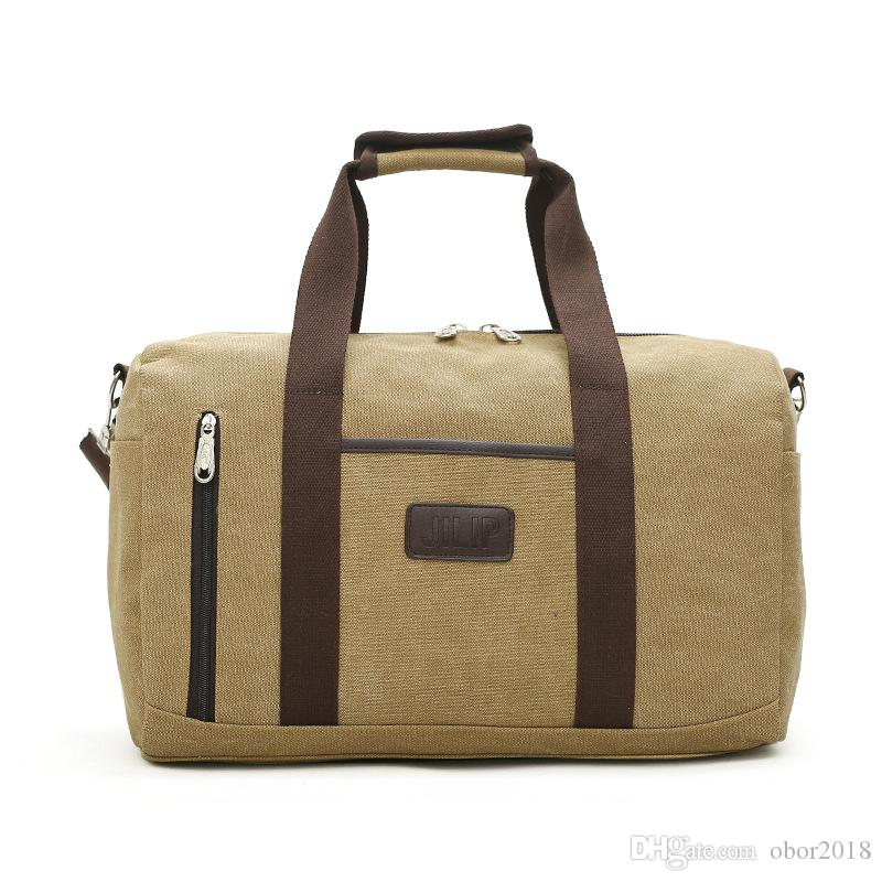 2d61c52b7c0f8a Vintage Military Canvas Travel Tote Duffel Bag Men Large Capacity Shoulder Bags  Satchel Luggage Weekend Overnight Bag Waterproof Bags Sport Bags From ...