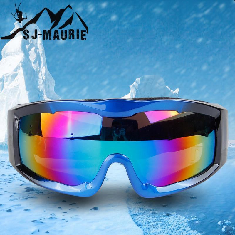 7c3fe312c2e06 Compre À Prova De Vento Esportes Snowboard Óculos De Esqui Único Len Esqui  Máscara Óculos Homens Mulheres Snow Snowboard Anti Fog Óculos De Proteção De  ...