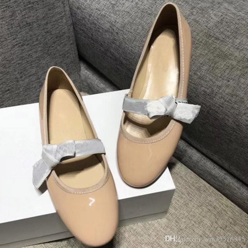 European Brand Shoes Fashion Leather Flat Shoes Ladies Designer Sandals  High Quality Leather Shoes 41 42 Online with  98.21 Pair on Wm35516345 s  Store ... d6f00a0bb