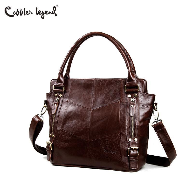 Cobbler Legend Women Handbags Hobo Shoulder Bags Tote Designer Genuine  Leather Handbags Female Fashion Large Capacity Bags Duffel Bags Ladies Purse  From ... 99757e06fd2fd