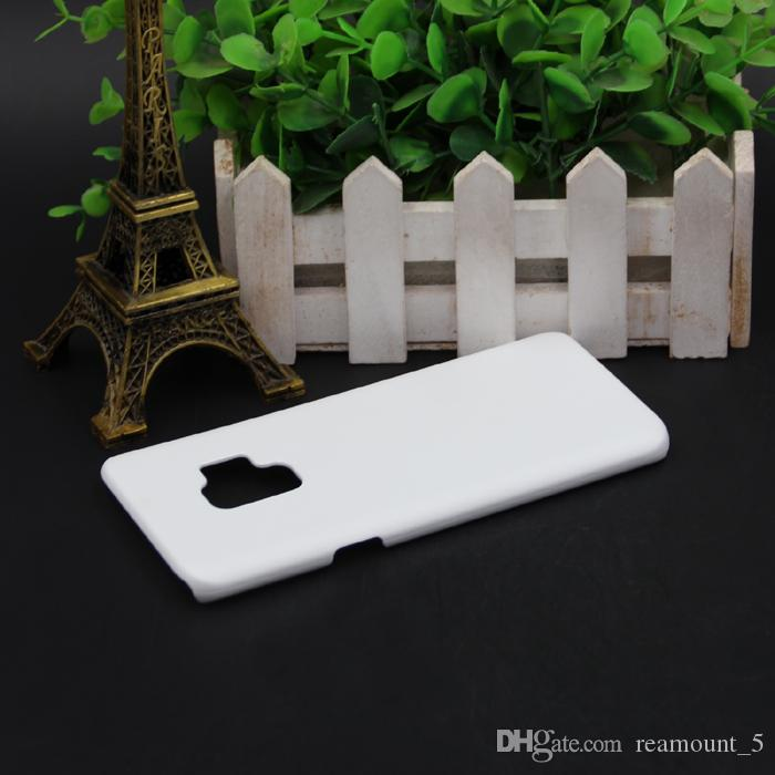 PC Plastic Hard Blank DIY 3D Sublimation Case Cover for Samsung S9 Mobile Phone Case Shell