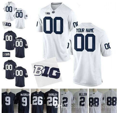 ... best custom penn state nittany lions big ten college football jerseys  mens womens youth personalized stitched eab3cfb1e