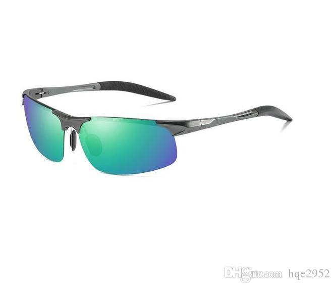 082fde397f 8117 Men S HOT Fashion Driving Polarized Sunglasses For Men Al Mg Metal  Frame Ultra Light Locs Sunglasses Suncloud Sunglasses From Hqe2952