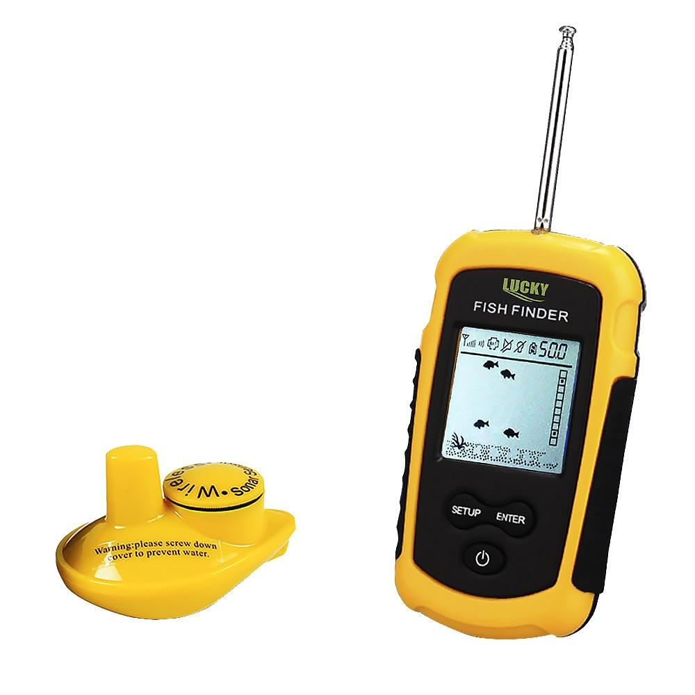 Wireless sounder for fishing in winter and summer 29
