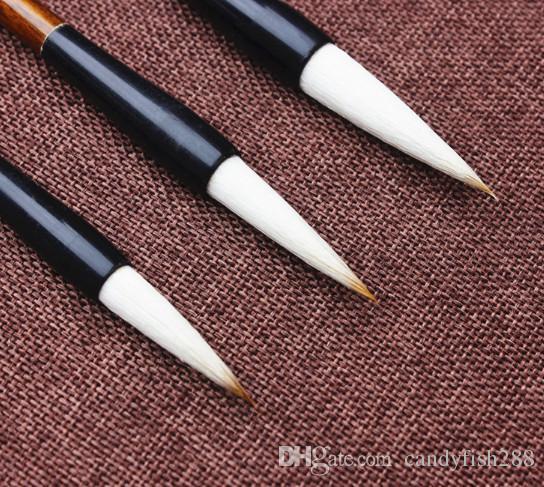Boyama Suppliesbig Shanlian Hu fırça fırçalar ve Shangshu bir sent sent metresi kaligrafi kalem kaligrafi boyama aracı
