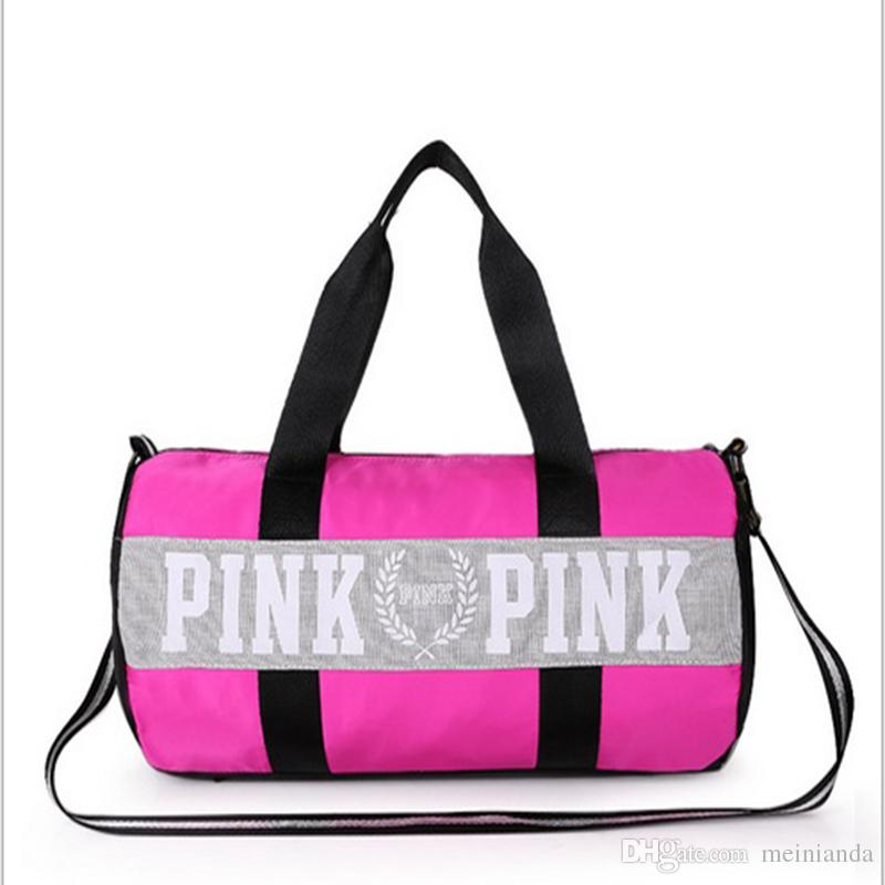 Vs Love Pink Girl Bag Travel Duffel Bag Women Travel Business Handbags  Beach Shoulder Bag Large Capacity Laegebag Large Capacity Laegebag Laegebag  Pink Girl ... b01da9f407