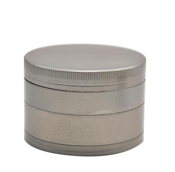 Venta directa 62mm material de aleación de zinc 4 capas de molienda de humos, metal helado metal ahumado.
