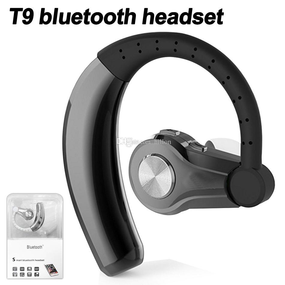 T9 Wireless Bluetooth Earphone for Smart Phone Noise canceling Wireless  Earbuds Handsfree Headphones Bluetooth V4 1 CVC 6 0 in Box