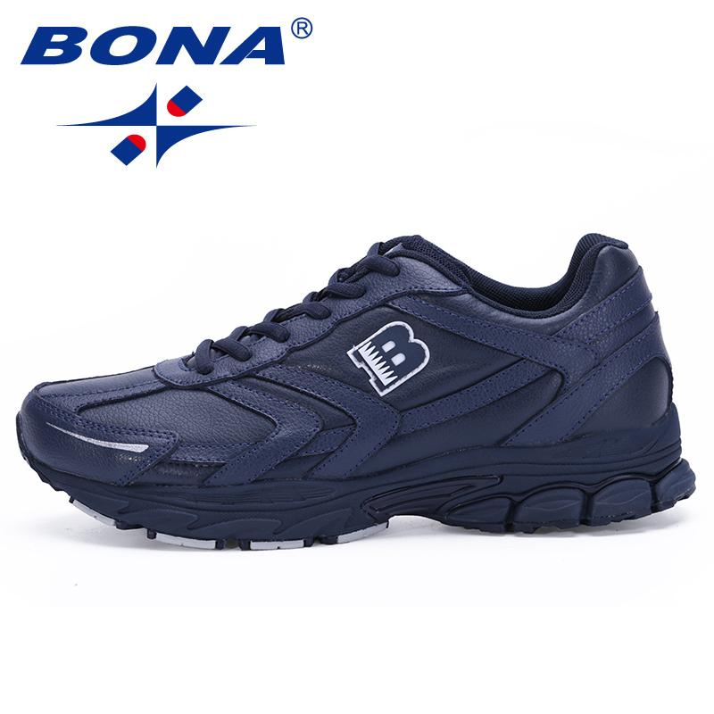 2019 Bona New Arrival Classics Style Men Running Shoes Lace Up Sport