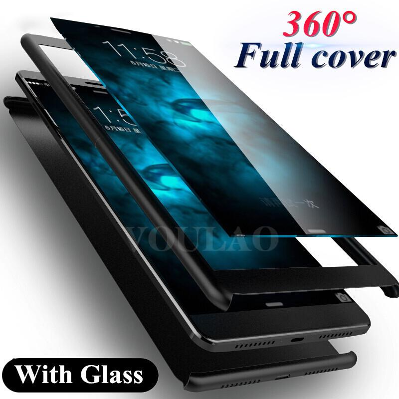 reputable site 042a2 d136d 360 Degree Full Cover Cases For huawei P10 lite Full Body Protective Cover  For P10 lite plus Case with Tempered glass