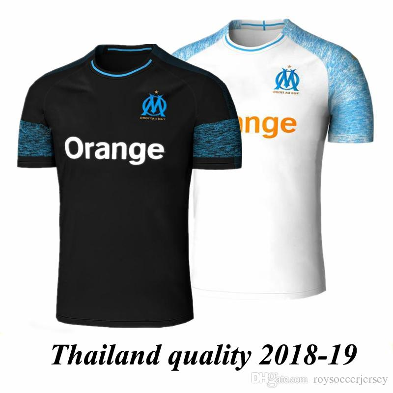 New 18 19 Olympique De Marseille Soccer Jersey 2018 2019 Marseille ... a8241868c