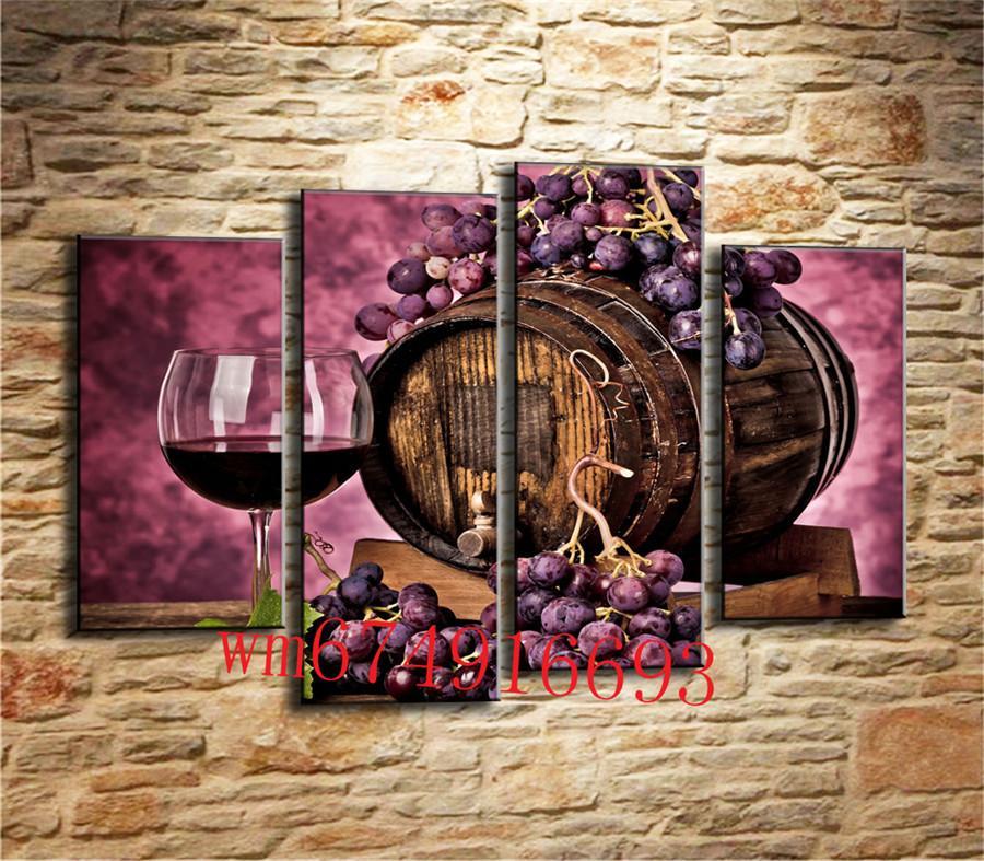 2019 Grape Wine Home Decor Hd Printed Modern Art Painting On