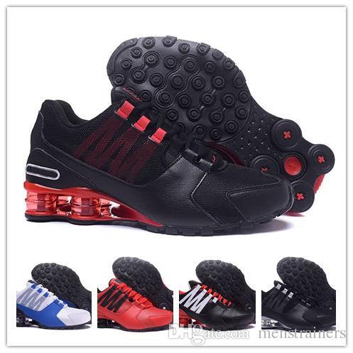 separation shoes f4eac ab3a1 Acquista 2018 Mens Shox Avenue 802 803 Scarpe Da Corsa Chuassures Shox Nz  Scarpe Da Pallacanestro Scarpe Sportive Di Qualità Superiore Nz Taglie EU40  46 A ...