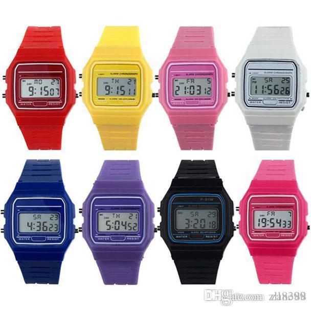 c59fcc358c24 New Silicone Rubber Strap Retro Vintage Digital Watch Boys Girls Mens  Quartz Wristwatch Fashion Male Watches Drop Shipping Shop Watches Online  Shopping For ...