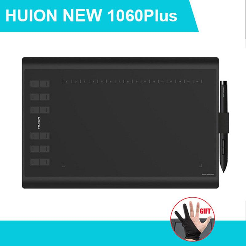 huion new 1060 plus driver not working