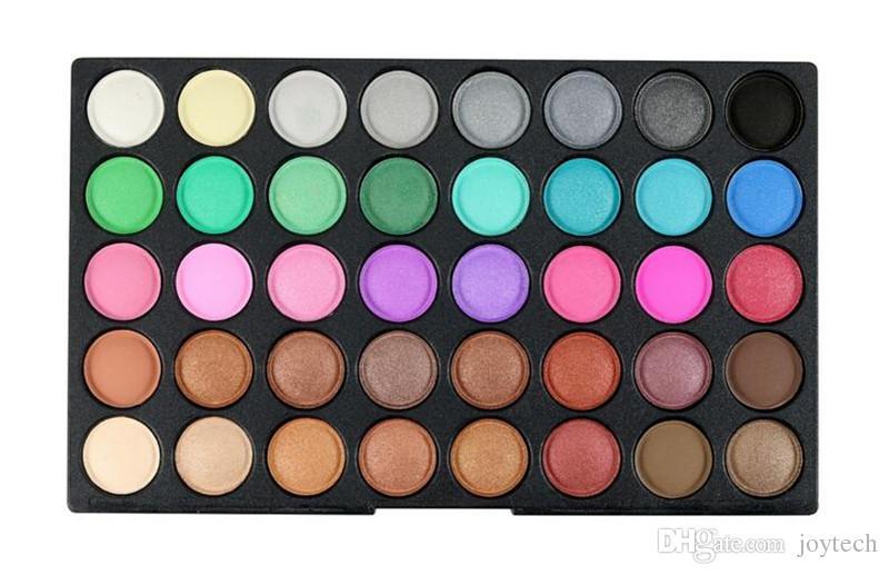 Maquillaje Profesional Sombra de Ojos Shimmer Matte Eyeshadow Paleta Set Kit es Sombra de ojos Nude Cosmético DHL envío gratis