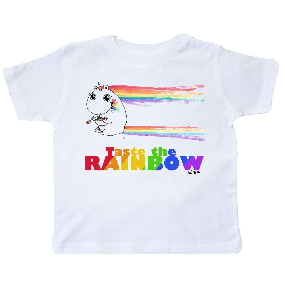 af91e8d226fe5f Inktastic Taste The Rainbow Unicorn Toddler T Shirt T Shirt Skittles Candy  Emi Funny Unisex Casual Tee Gift One Day T Shirt Best Site For T Shirts  From ...
