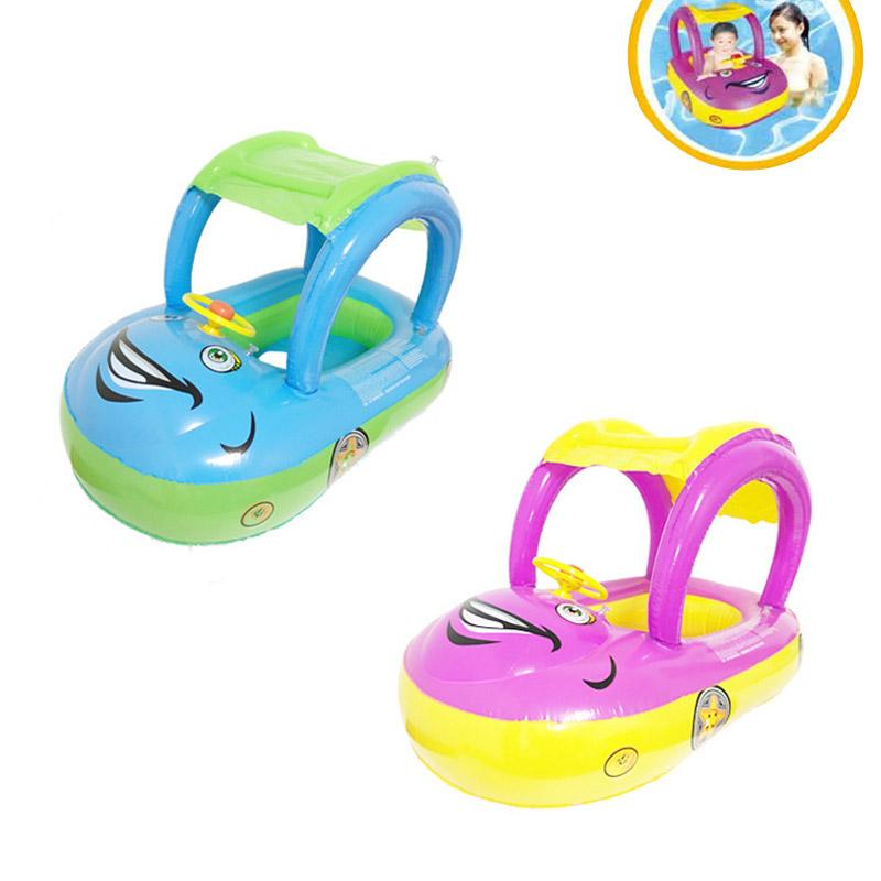2018 Inflatable Baby Toddler Float Seat Boat Tube Ring Car Sun Shade Water Swim Swimming Pool Cartoon Portable Seats 55 Xr Ho From Rainlnday