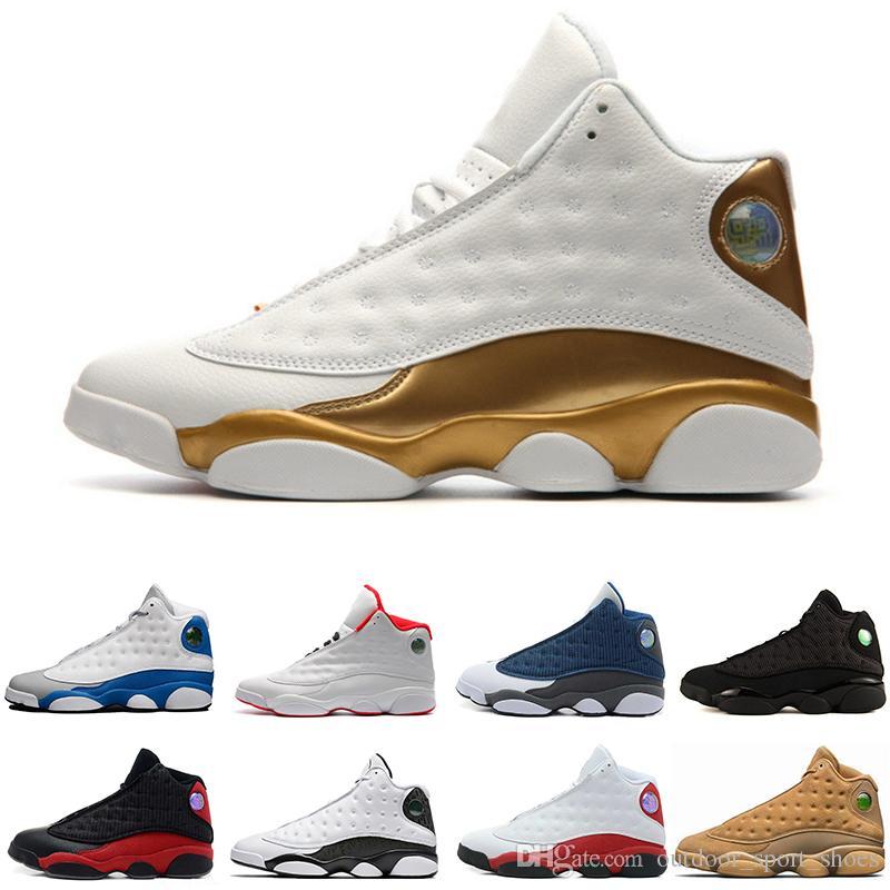 cb65e0cdd6bd Cheap 13 13s Basketball Shoes Wine Red Cat Phantom Brown Wheat Brown Women  Men Running Designer Sneaker