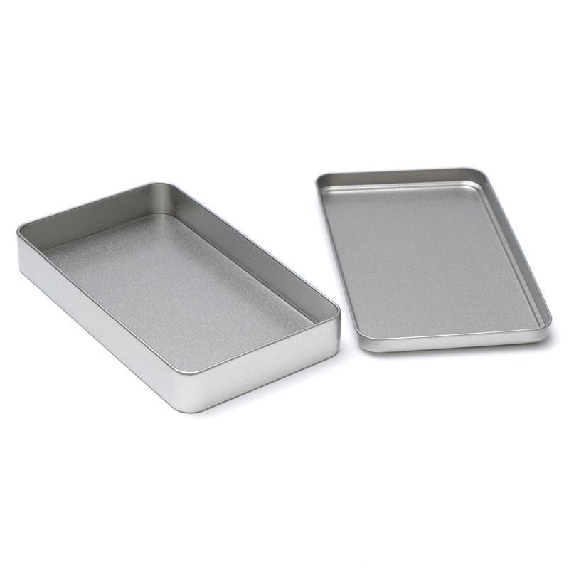Grosshandel 18 Cm Rechteck Metall Box Schreibwaren Notizen Stift