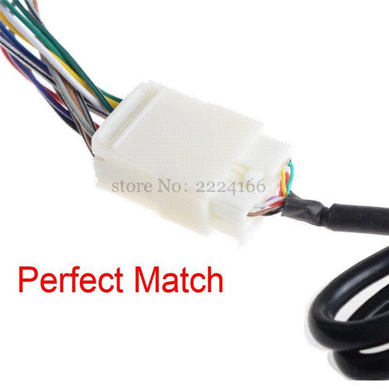 2019 New Y Wire Harness Aux Splitter Cable CD Changer