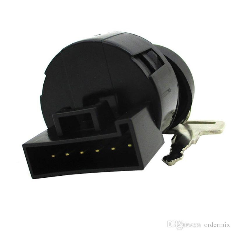 Ignition key switch lock Motorcycle Moped Buggy Scooters Motorcycle Parts for Polaris Sportsman 500 HO 2002-2003 with 2 Keys