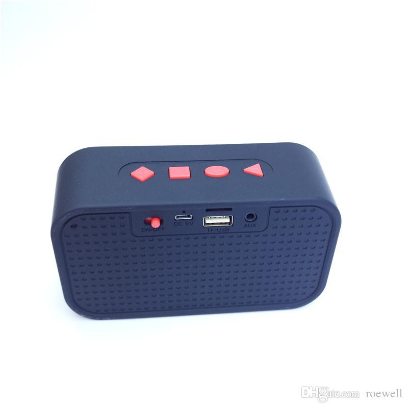 Mini Portable Bluetooth Speaker N13 Outdoor System Audio Speaker Wireless Handsfree FM Radio USB Flash Drive DHL