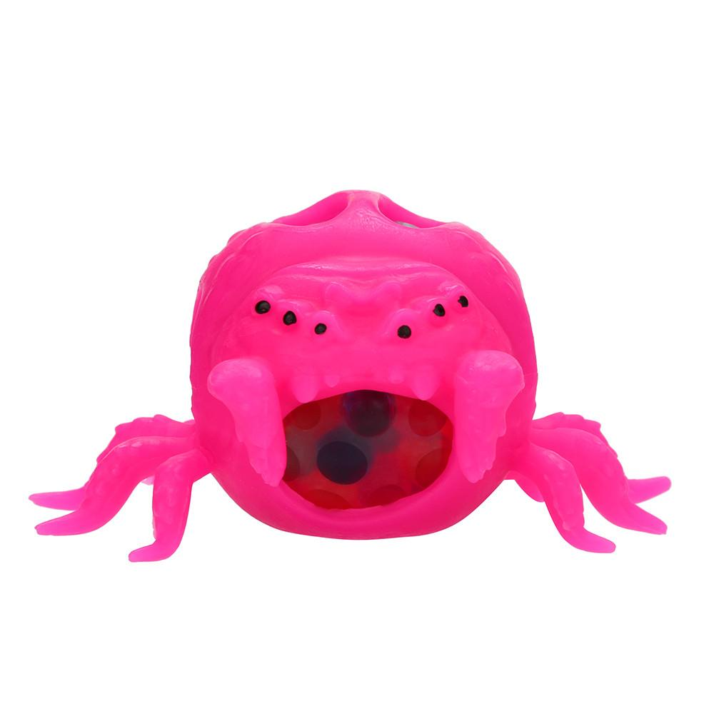 Squishy Toys Intelligence Toy For Babies Crazy Spider Mesh Grape Ball Squeeze Relief Stress Educational Toy wholesale A8718