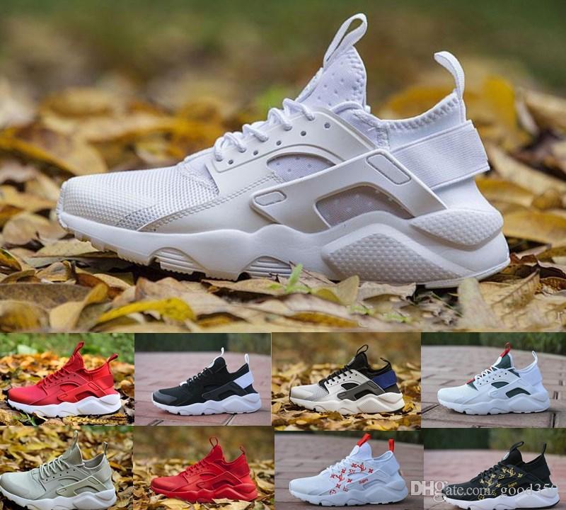 1672a90764711 2018 New Air Huarache 4 4.0 Running Shoes For 3S Men Women Hurache ...
