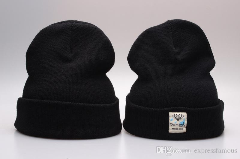 Diamanten Lieferer. Beanie Hut populären Stil Skullies Mützen Snapbacks Hüte Caps Winter Street Wear Mützen für Männer und Frauen Kostenloser Versand