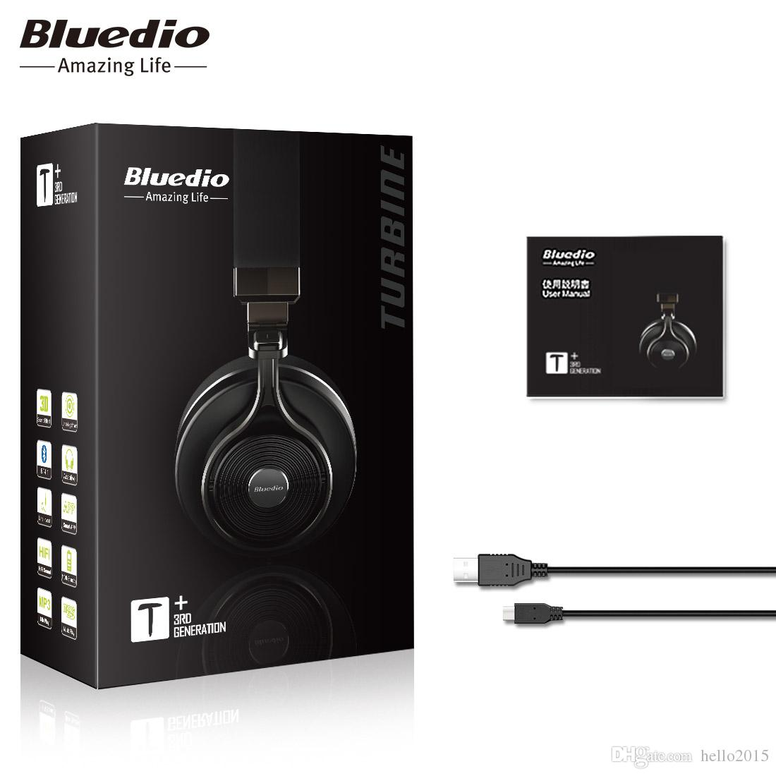 2228aea0048 Original Bluedio T3 Plus Wireless Bluetooth Headphones/Headset With  Microphone/Micro SD Card Slot Bluetooth Headphone/Headset Best Wireless  Headphones ...