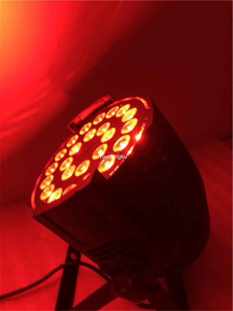 24x10w led par can 4in1 led par64 par led dmx rgbw