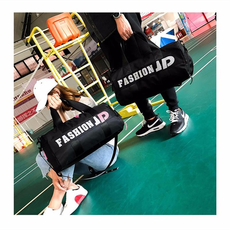 2019 New Waterproof Men Sports Gym Bags New Yoga Fitness Bag Women Travel  Handbag Training Duffle Bag Sac De Sport From Fwuyun 9d15ec457f038