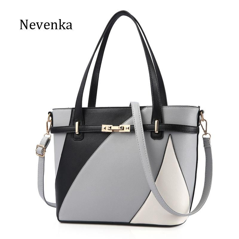 Nevenka New Design Women Fashion Style Handbag Female Luxury Chains Bags  Sequined Zipper Messenger Bag Quality Pu Leather Tote Y18102003 Jo Totes  Discount ... 6a0bf20e77880