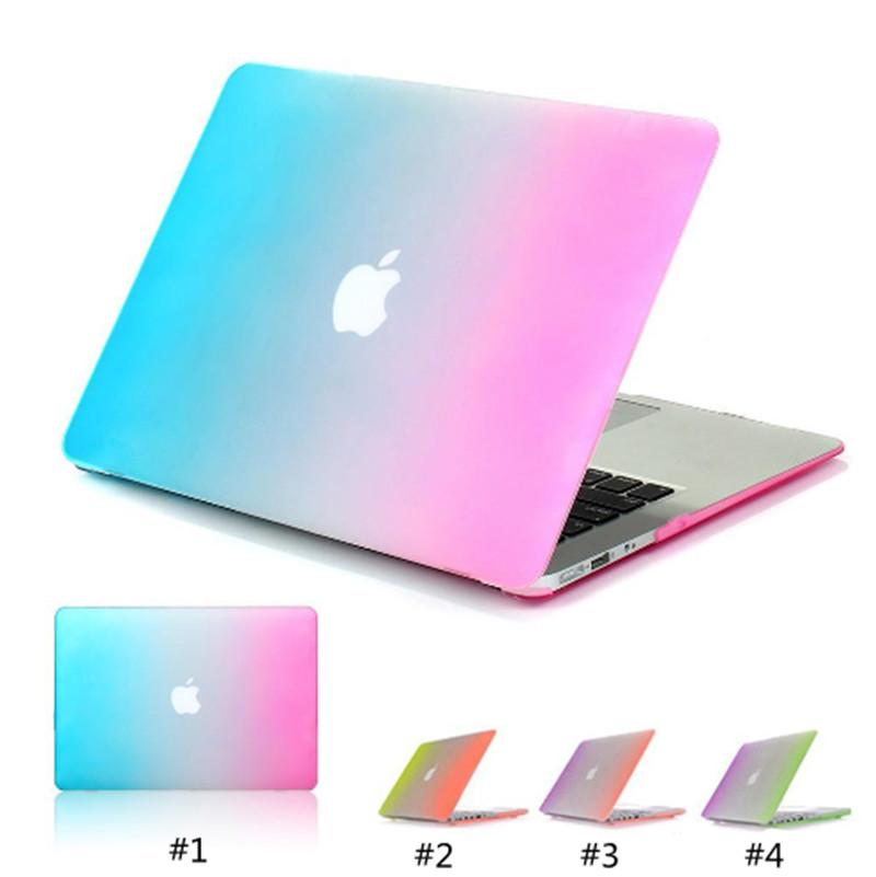 Premium Rainbow Style Case For Apple MacBook Macbook 11 12 13 15 Air Pro Retina New Pro A1706 A1708 A1707