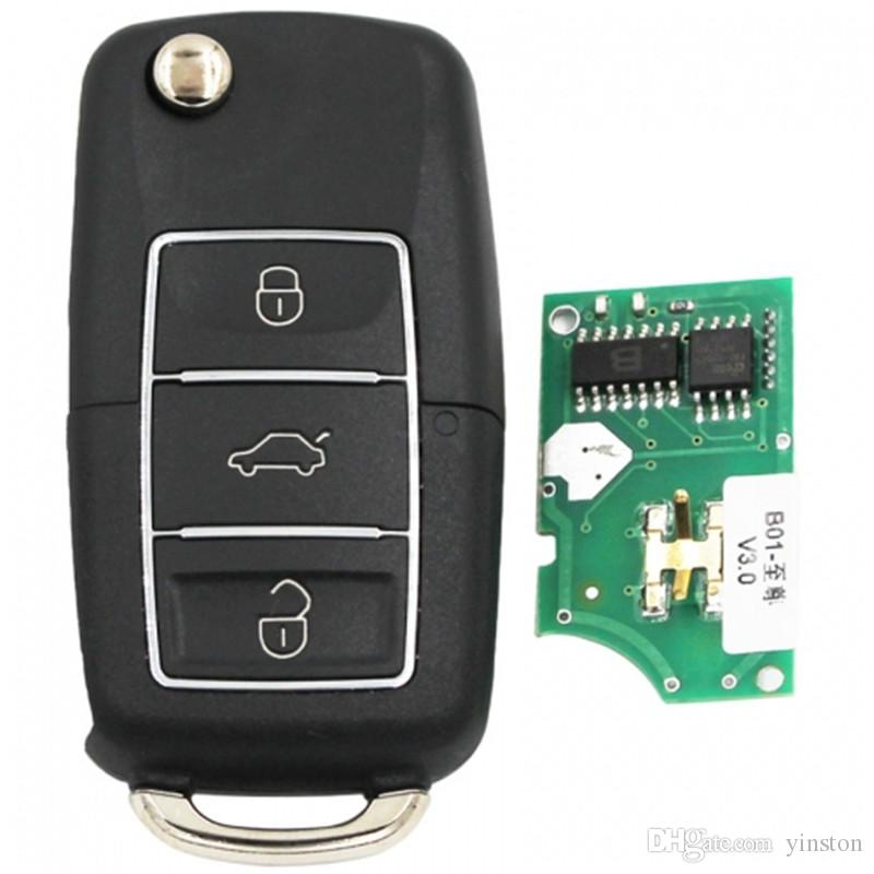 Hot Sell B01-3-LB Universal B-Series Remote Control for KD900 +URG200 B01 3 Button Key Luxury Style