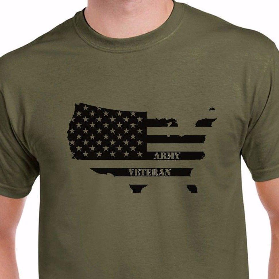 a2a290b0 Details Zu NEW Army Veteran T Shirt NAVY USAF USMC Tee Veterans Day U.S.  Military T Shirt Funny Unisex Tee Nerd T Shirts Design Shirt From  Tshirt_press, ...
