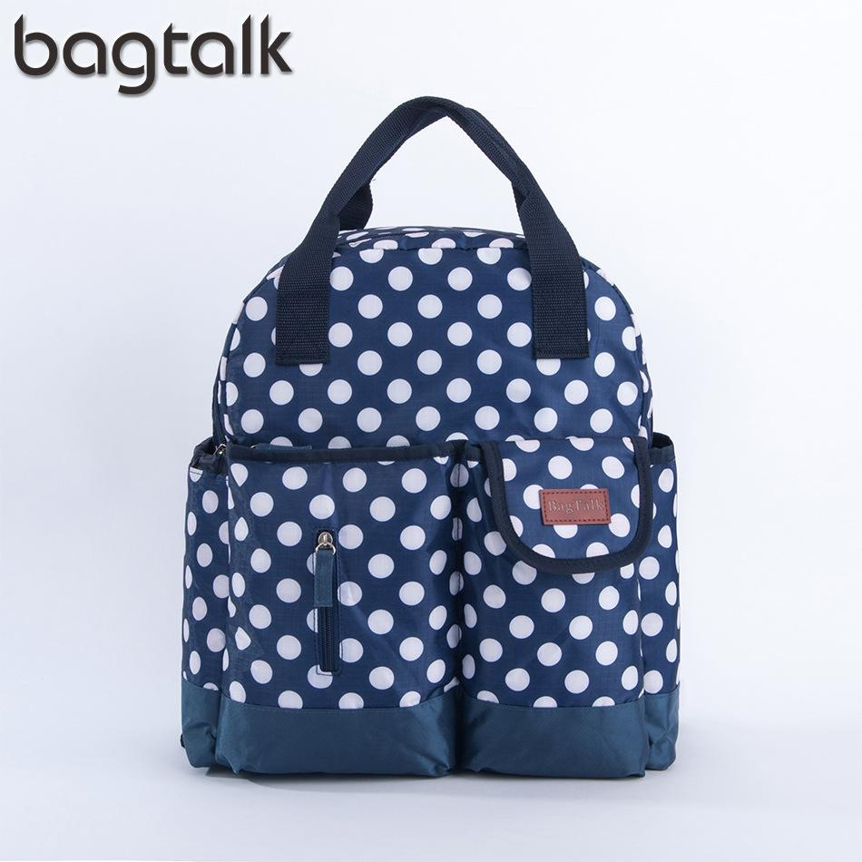 2019 Waterproof Dots Backpack Diaper Bag Functionary Nappy Bags Large Diaper  Cute Baby Nursing Women S Maternity Bag Baby Care From Cover3085 863ef69e2d