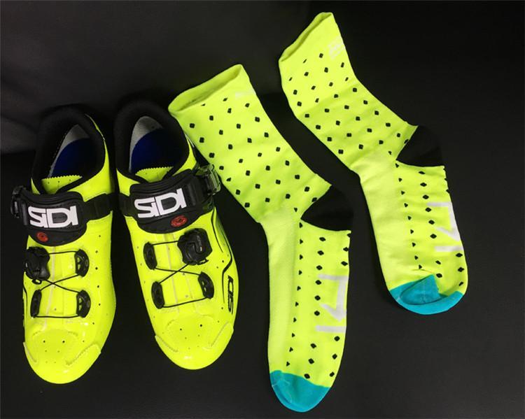 Cycling socks High Quality Professional Brand Sport Socks Breathable Bicycle Socks Outdoor Sports Racing Basketball Football Big size