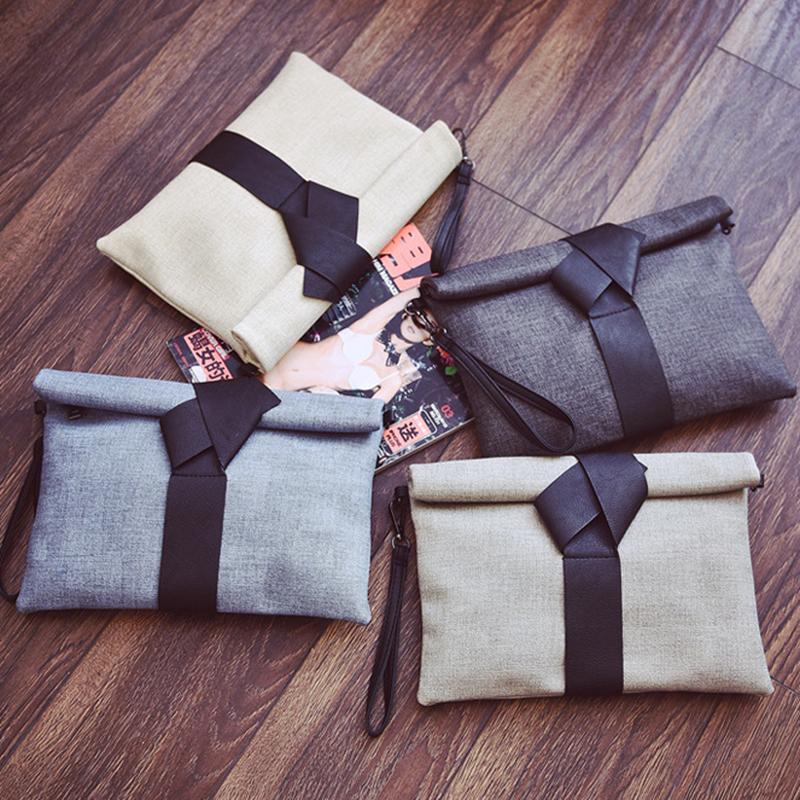 2017 moda pu deri çanta küçük katı yay kadın akşam debriyaj çanta kadın zarf kadın omuz messenger çanta ND012