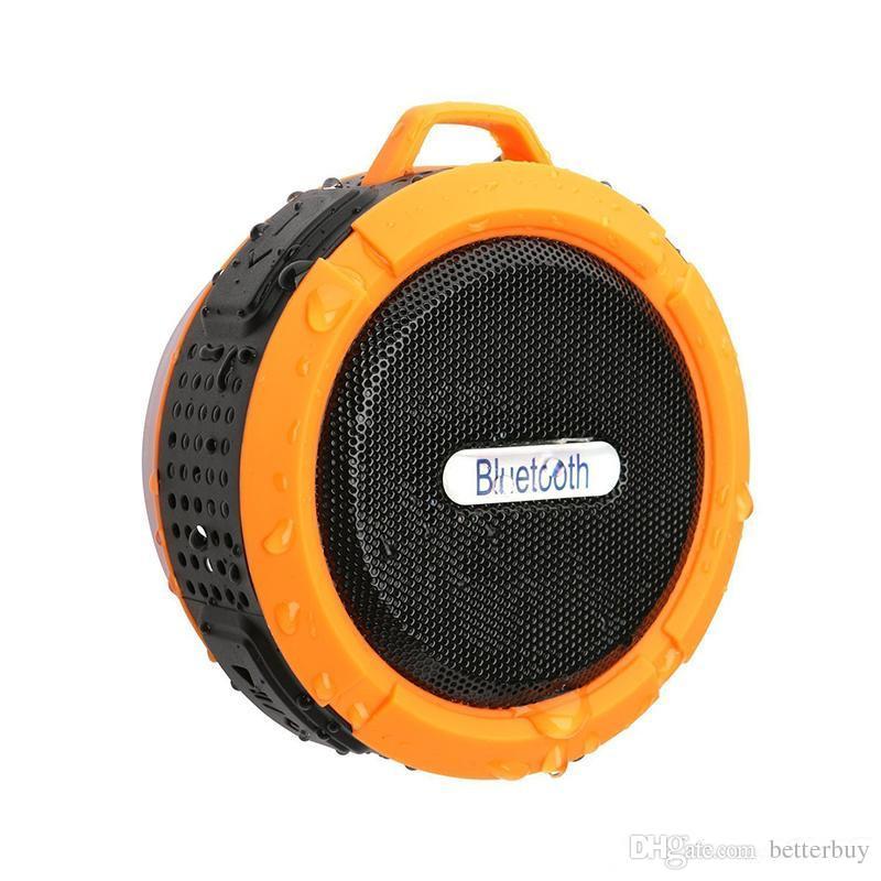 C6 lautsprecher bluetooth lautsprecher wireless trinkbar audio player wasserdichte lautsprecher haken und saugnapf stereo musik player hohe qualität