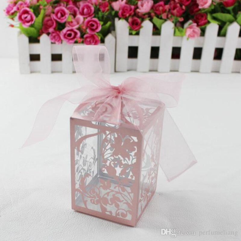 PVC partido favor do casamento caixas de bombons do chuveiro de bebê caixa de presente diy caixa de doces criativo romântico mariage qw7059