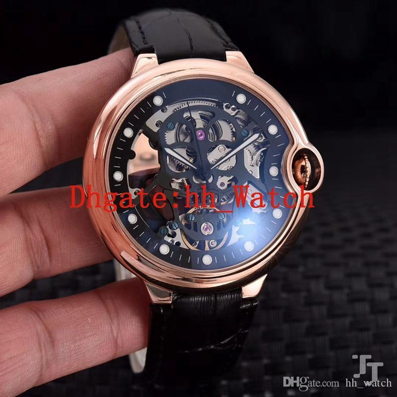 7f776fe669c Compre 2018 Novo Relógio De Aço Inoxidável Dos Homens 904l Aaa Marca Suíça  Movimento Mecânico Automático Cronógrafo 43mm Relógio Dos Homens  Personalizados ...