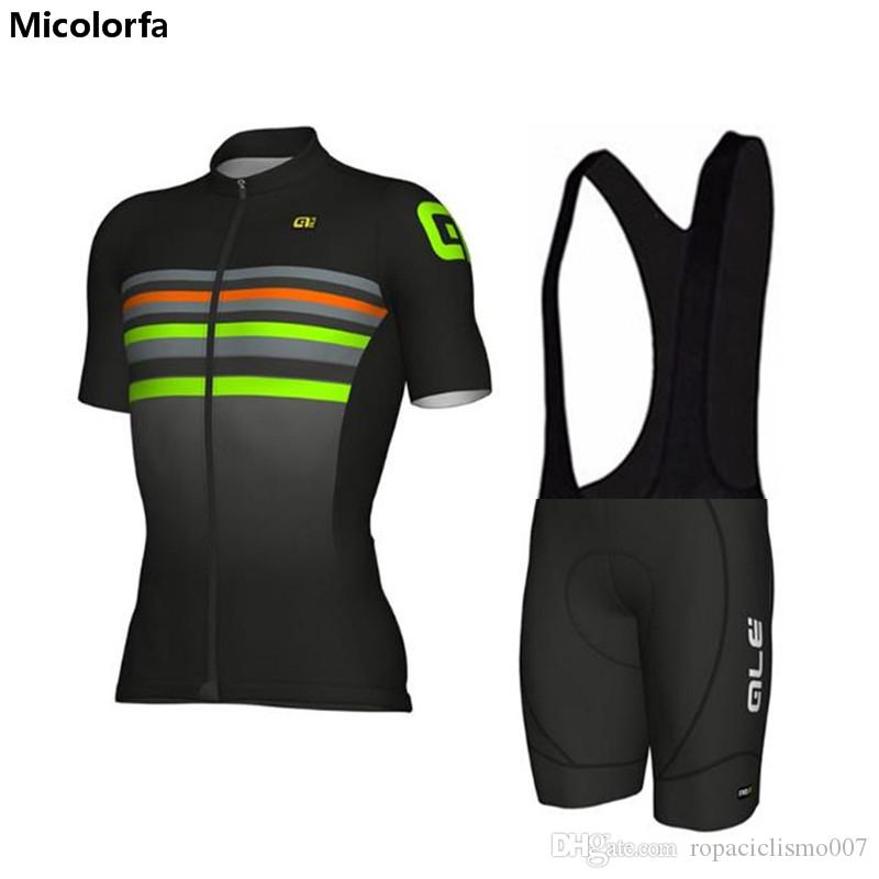 e3d948ed1 Men 2018 Cycling Jersey ALE Team Cycling Short Sleeves Jersey Summer ...