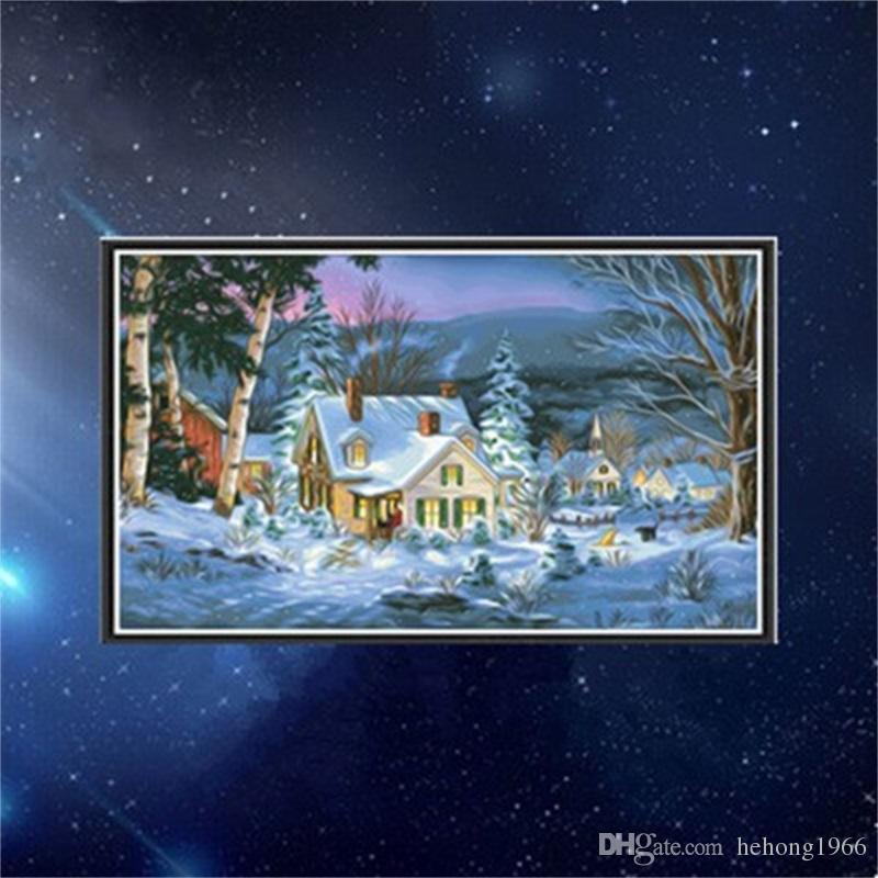 Großhandel Diy Manuelle Weihnachten Diamant Malerei Wohnzimmer ...