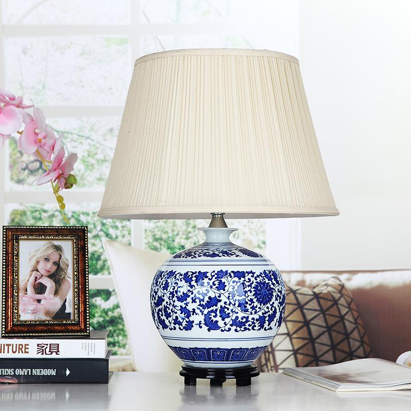 2019 Bdbqbl Orcelain Chinese Style Blue And White Porcelain Table